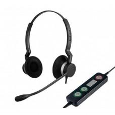 Гарнитура Jabra BIZ 2300 Duo, USB, MS (2399-823-109)