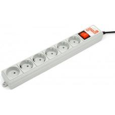 Сетевой фильтр Power Cube SPG(5+1)-B-10 3m Grey