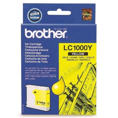 Струйный картридж Brother LC-1000Y