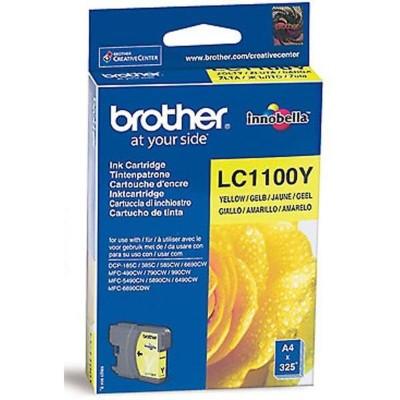 Струйный картридж Brother LC-1100Y