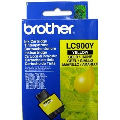 Струйный картридж Brother LC-900Y