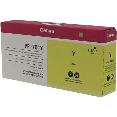 Струйный картридж Canon PFI-701Y