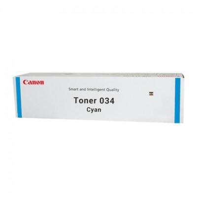 Тонер-картридж Canon 034, голубой