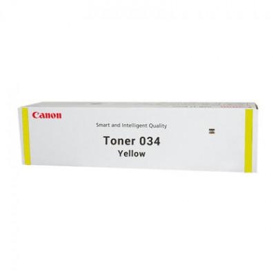 Тонер-картридж Canon 034, желтый