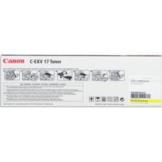 Картридж Canon C-EXV17 Yellow