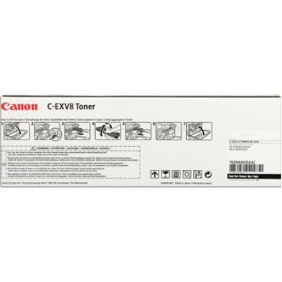 Картридж Canon C-EXV8 Bk Toner