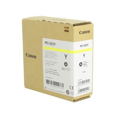 Струйный картридж Canon PFI-303Y