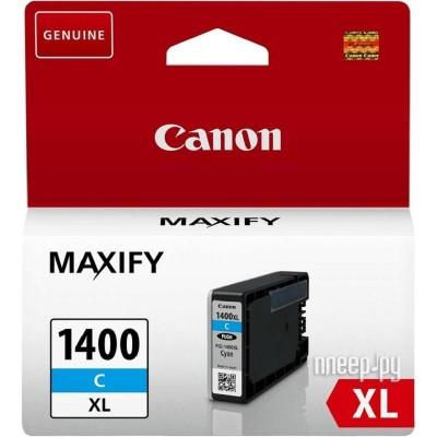 Струйный картридж Canon PGI-1400 XL C
