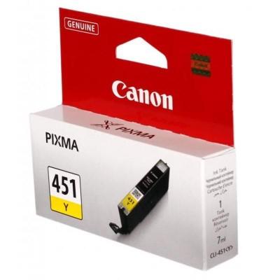 Струйный картридж Canon CLI-451Y