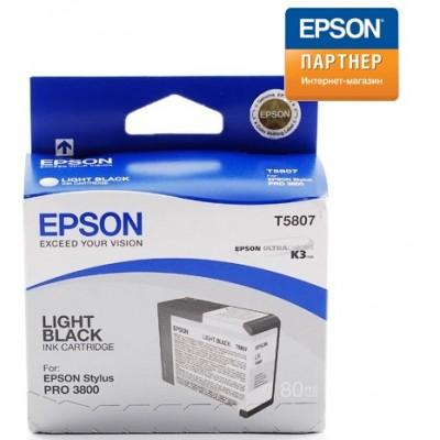 Струйный картридж Epson C13T580700