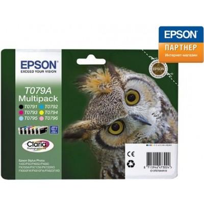 Набор из шести картриджей Epson C13T079A4A10