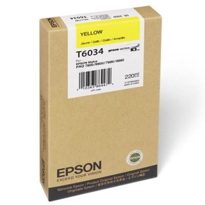 Струйный картридж Epson C13T603400