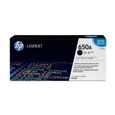 Картридж HP CE270A (650a)