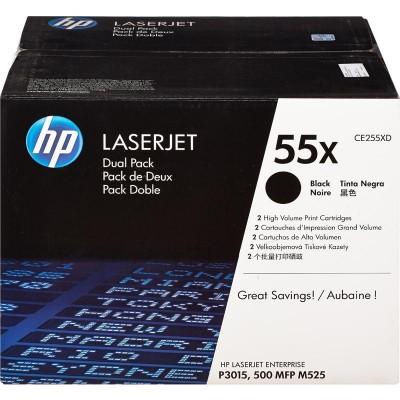 Картридж HP CE255XD (двойная упаковка)