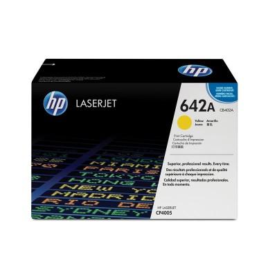 Картридж HP CB402A (642a)