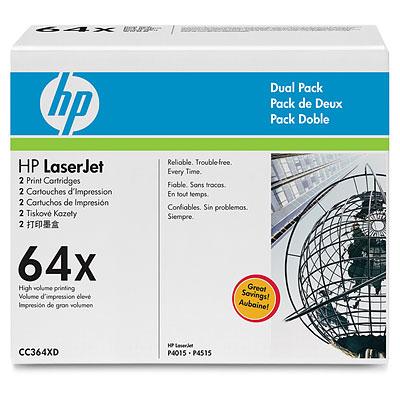 Картридж HP CC364XD (двойная упаковка)