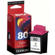 Струйный картридж Lexmark 12A1980E (№80)