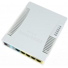 Коммутатор MikroTik RB260GSP (CSS106-1G-4P-1S)