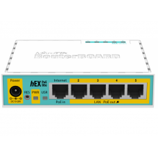 Коммутатор MikroTik hEX PoE lite (RB750UPr2)