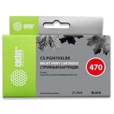 Картридж Cactus CS-PGI470XLBK