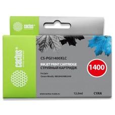 Картридж Cactus CS-PGI1400XLC
