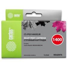 Картридж Cactus CS-PGI1400XLM