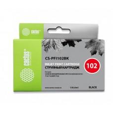 Картридж Cactus CS-PFI102BK