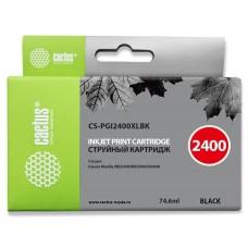 Картридж Cactus CS-PGI2400XLBK
