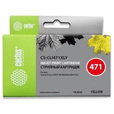 Картридж Cactus CS-CLI471XLY