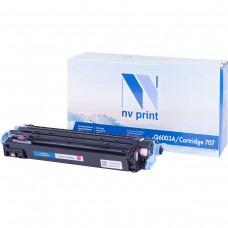 Картридж NV Print NV-Q6003A/NV-707 Magenta