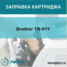 Заправка картриджа Brother TN-01Y