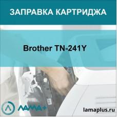 Заправка картриджа Brother TN-241Y