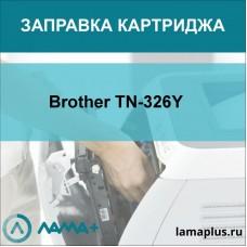 Заправка картриджа Brother TN-326Y