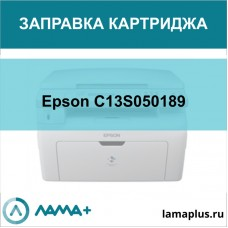 Заправка картриджа Epson C13S050189