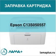 Заправка картриджа Epson C13S050557