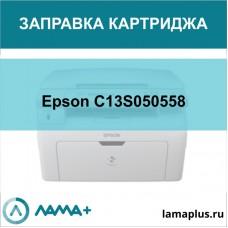 Заправка картриджа Epson C13S050558