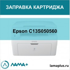 Заправка картриджа Epson C13S050560