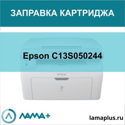 Заправка картриджа Epson C13S050244
