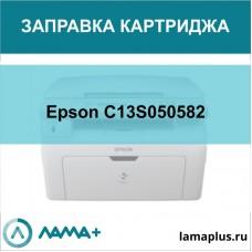 Заправка картриджа Epson C13S050582