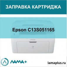 Заправка картриджа Epson C13S051165