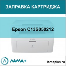 Заправка картриджа Epson C13S050212