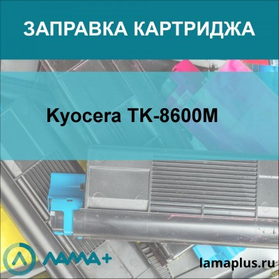 Заправка картриджа Kyocera TK-8600M