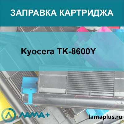 Заправка картриджа Kyocera TK-8600Y