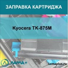 Заправка картриджа Kyocera TK-875M