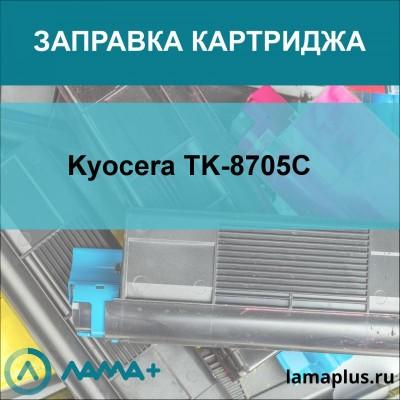 Заправка картриджа Kyocera TK-8705C
