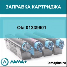 Заправка картриджа Oki 01239901