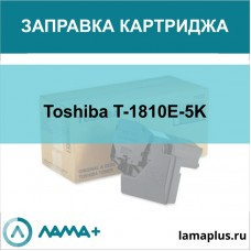 Заправка картриджа Toshiba T-1810E-5K